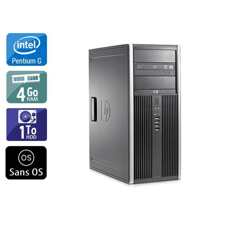 HP Compaq Elite 8300 Tower Pentium G Dual Core 4Go RAM 1To HDD Sans OS