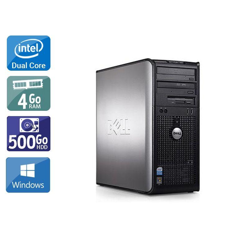Dell Optiplex 380 Tower Dual Core 4Go RAM 500Go HDD Windows 10