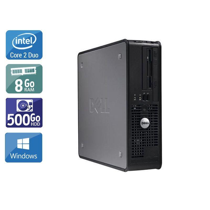 Dell Optiplex 380 SFF Core 2 Duo 8Go RAM 500Go HDD Windows 10