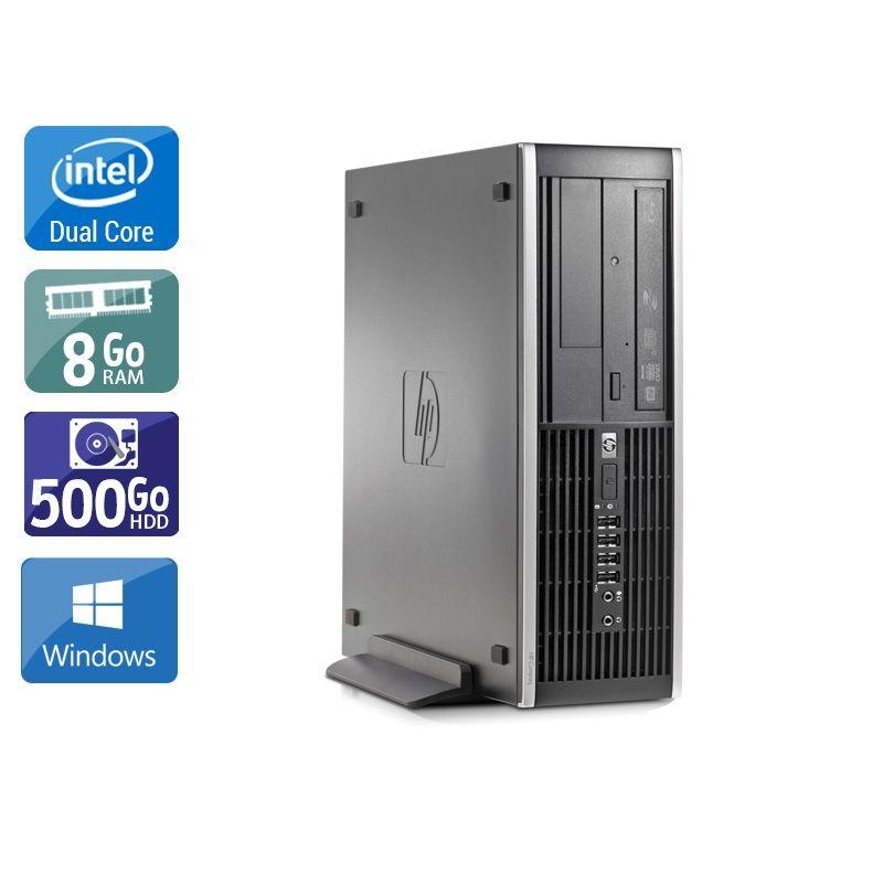 HP Compaq Elite 8000 SFF Dual Core 8Go RAM 250Go HDD Windows 10