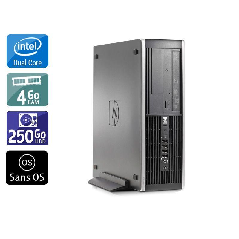 HP Compaq Elite 8000 SFF Dual Core 4Go RAM 250Go HDD Sans OS