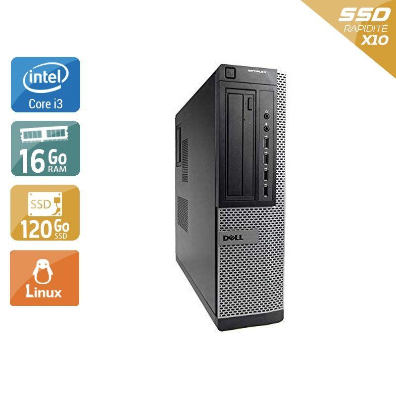 Dell Optiplex 7010 Desktop i3 16Go RAM 120Go SSD Linux