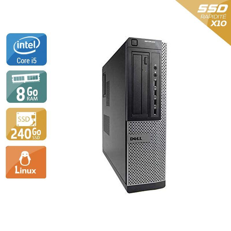 Dell Optiplex 7010 Desktop i5 8Go RAM 240Go SSD Linux