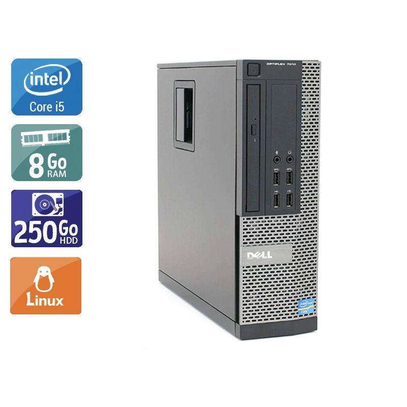 Dell Optiplex 7010 SFF i5 8Go RAM 250Go HDD Linux