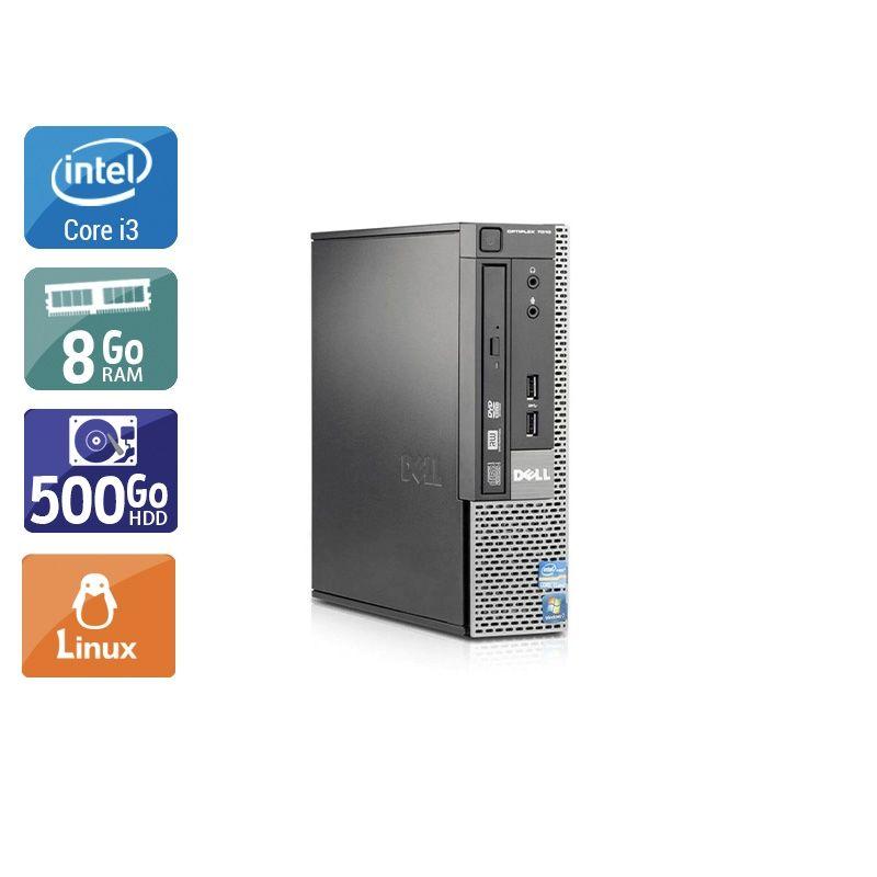 Dell Optiplex 7010 USDT i3 8Go RAM 500Go HDD Linux