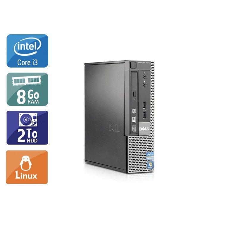 Dell Optiplex 7010 USDT i3 8Go RAM 2To HDD Linux