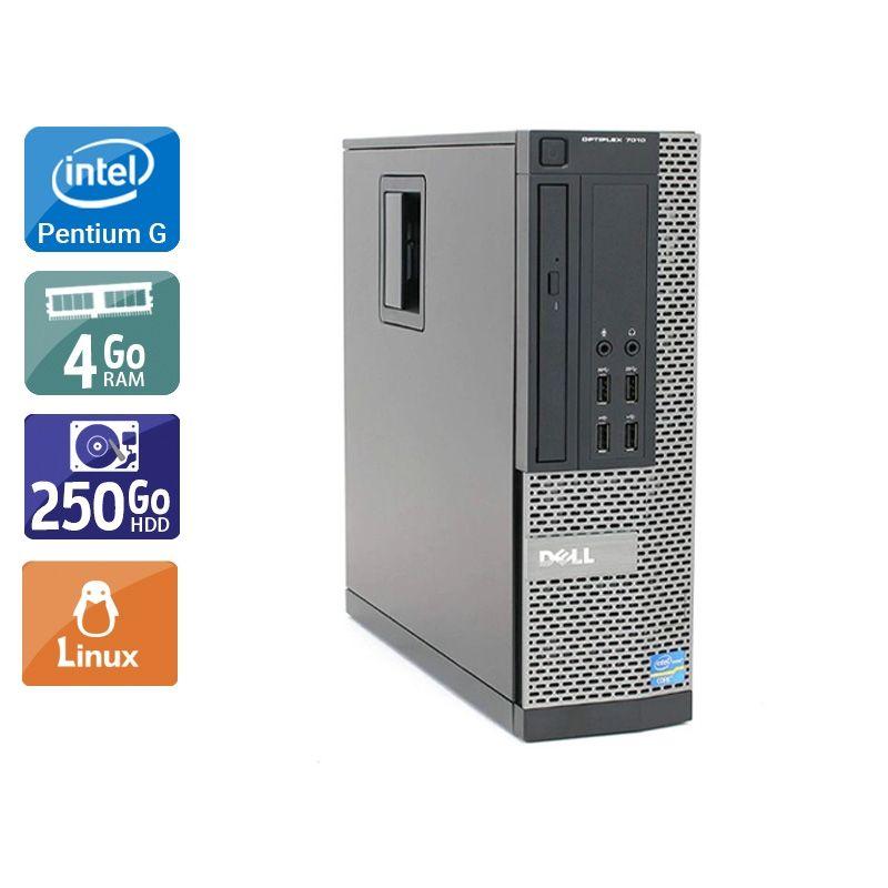 Dell Optiplex 7010 SFF Pentium G Dual Core 4Go RAM 250Go HDD Linux