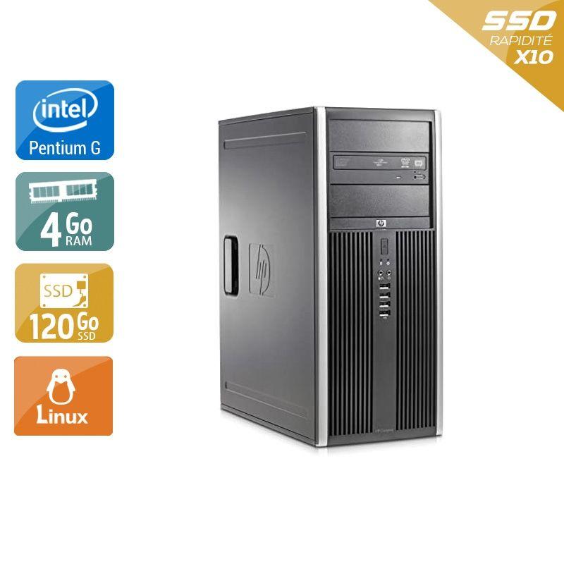 HP Compaq dc5700 Tower Pentium G Dual Core 4Go RAM 120Go SSD Linux