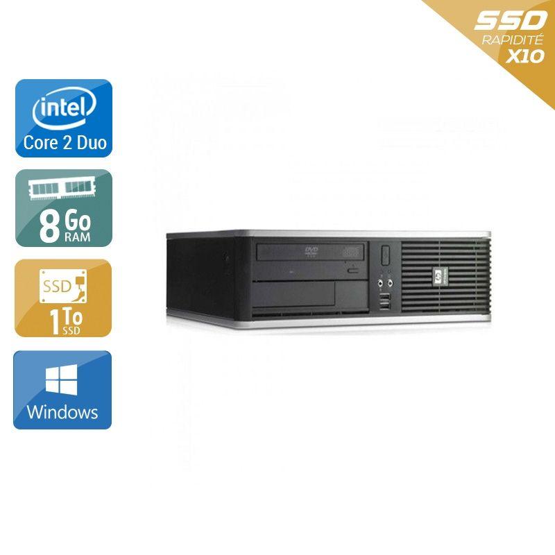 HP Compaq dc7800 SFF Core 2 Duo 8Go RAM 1To SSD Windows 10