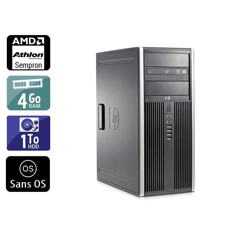 HP Compaq dc5750 Tower AMD Sempron 4Go RAM 1To HDD Sans OS