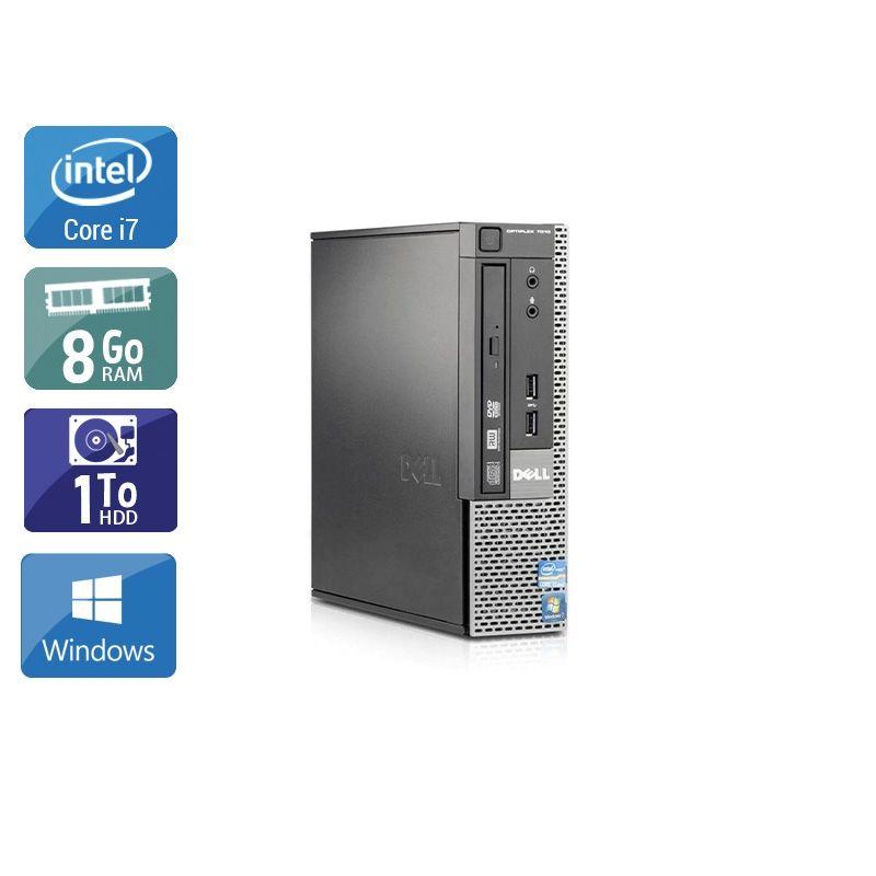 Dell Optiplex 7010 USDT i7 8Go RAM 1To HDD Windows 10