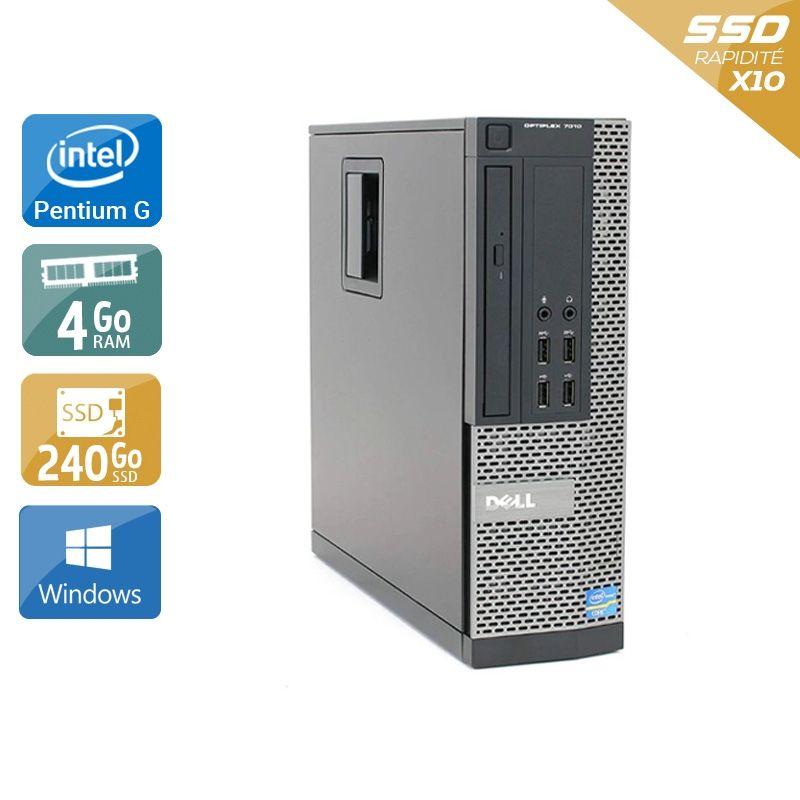 Dell Optiplex 7020 SFF Pentium G Dual Core 4Go RAM 240Go SSD Windows 10