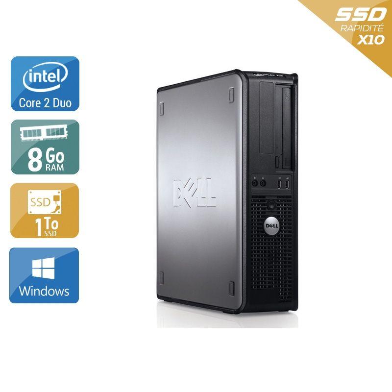 Dell Optiplex 760 Desktop Core 2 Duo 8Go RAM 1To SSD Windows 10