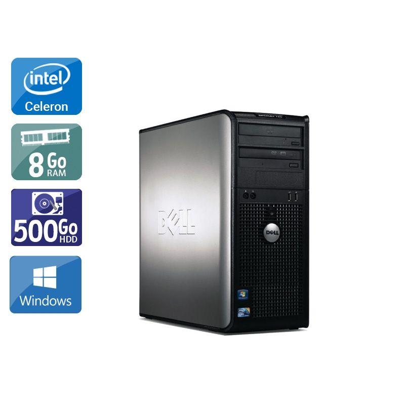 Dell Optiplex 780 Tower Celeron Dual Core 8Go RAM 500Go HDD Windows 10