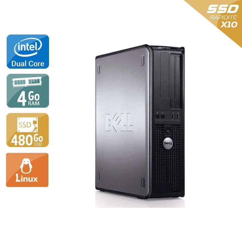 Dell Optiplex 780 Desktop Dual Core 4Go RAM 480Go SSD Linux