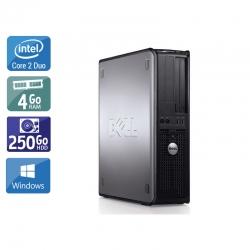 Dell Optiplex 780 SFF Core 2 Duo - 4Go RAM 250Go HDD Windows 10