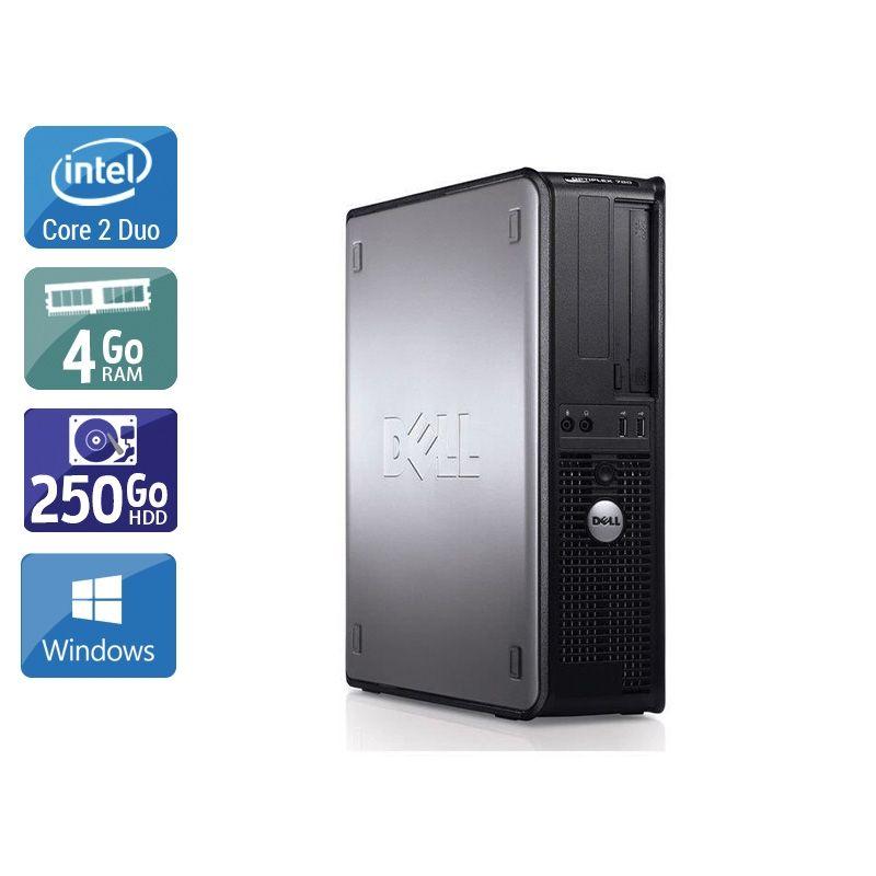 Dell Optiplex 780 SFF Core 2 Duo 4Go RAM 250Go HDD Windows 10