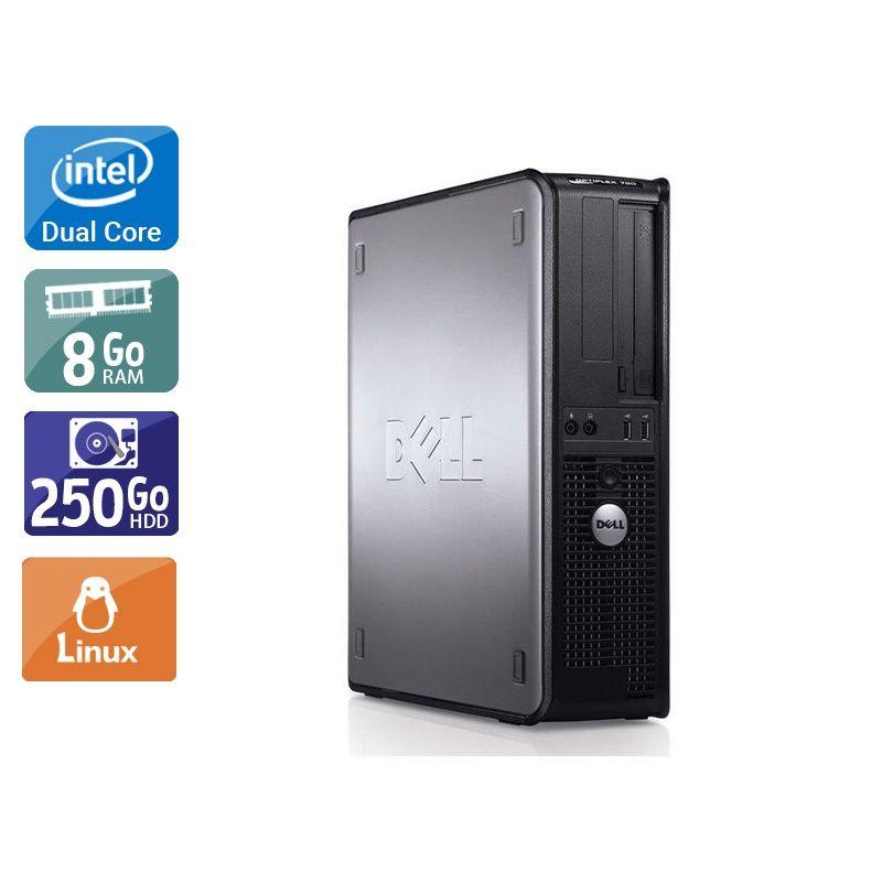 Dell Optiplex 780 SFF Dual Core 8Go RAM 250Go HDD Linux