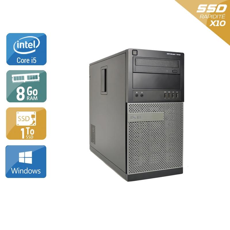 Dell Optiplex 790 Tower i5 8Go RAM 1To SSD Windows 10