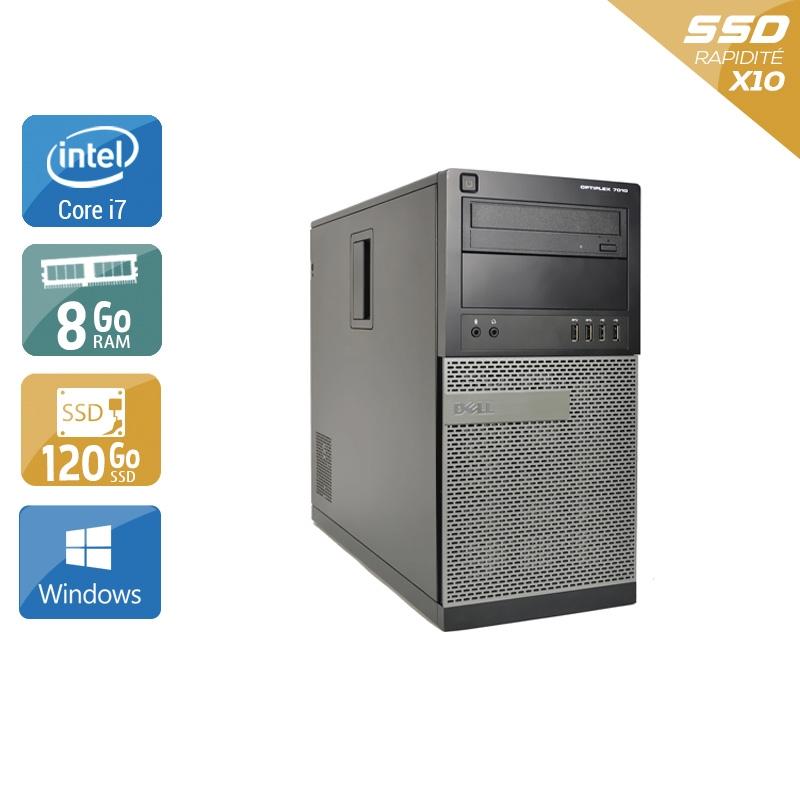 Dell Optiplex 790 Tower i7 8Go RAM 120Go SSD Windows 10