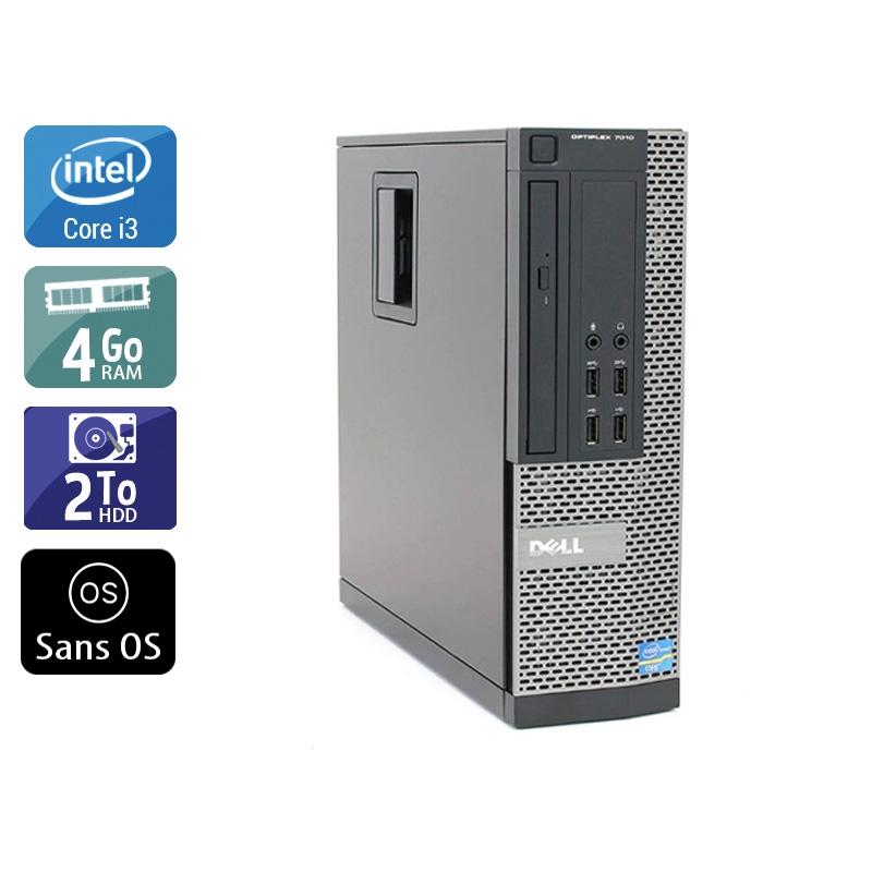 Dell Optiplex 790 SFF i3 4Go RAM 2To HDD Sans OS