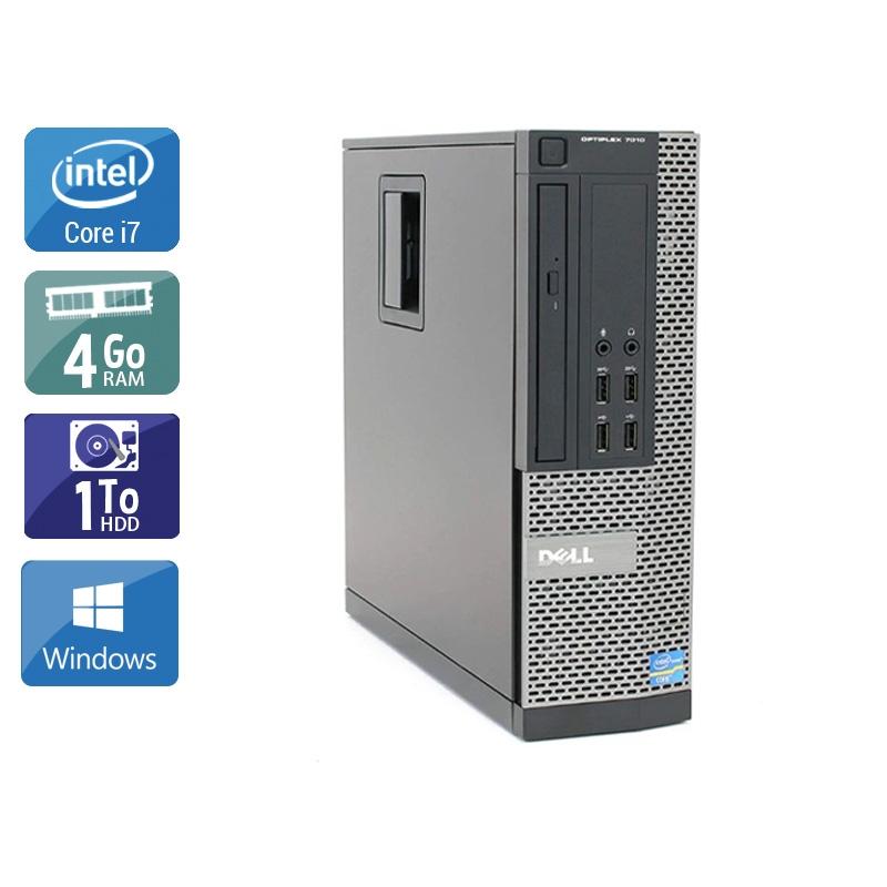 Dell Optiplex 9010 SFF i7 4Go RAM 1To HDD Windows 10