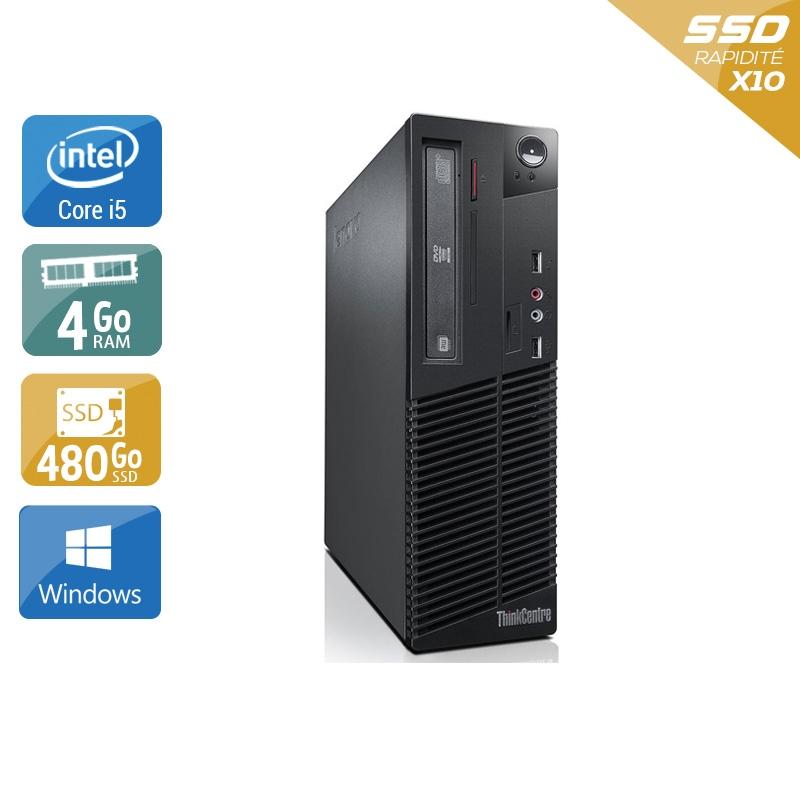 Lenovo ThinkCentre M73 SFF i5 4Go RAM 480Go SSD Windows 10