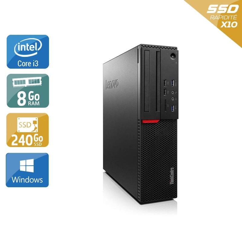 Lenovo ThinkCentre M700 SFF i3 Gen 6 8Go RAM 240Go SSD Windows 10