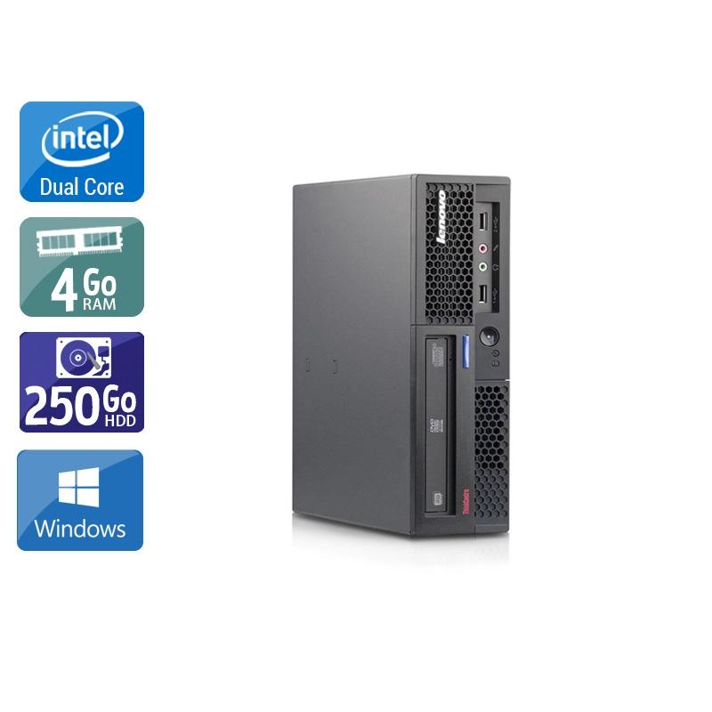 Lenovo ThinkCentre M58 USFF Dual Core 4Go RAM 250Go HDD Windows 10