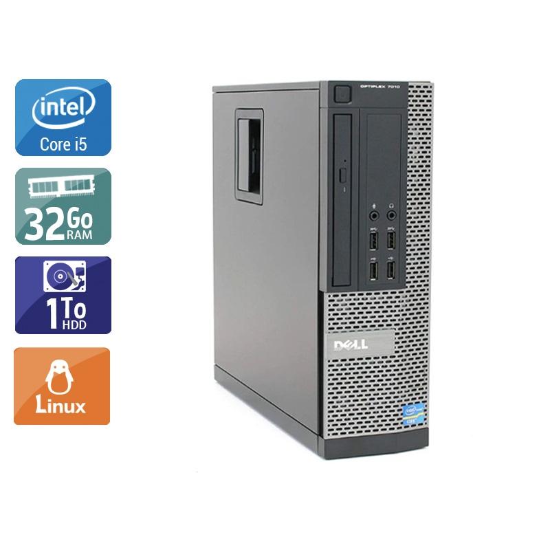 Dell Optiplex 9020 SFF i5 32Go RAM 1To HDD Linux