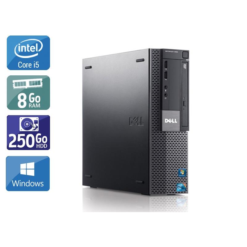 Dell Optiplex 980 SFF i5 8Go RAM 250Go HDD Windows 10