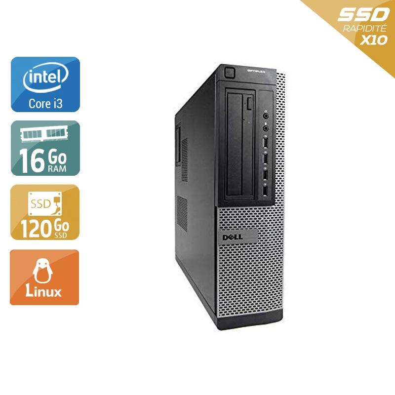 Dell Optiplex 990 Desktop i3 16Go RAM 120Go SSD Linux