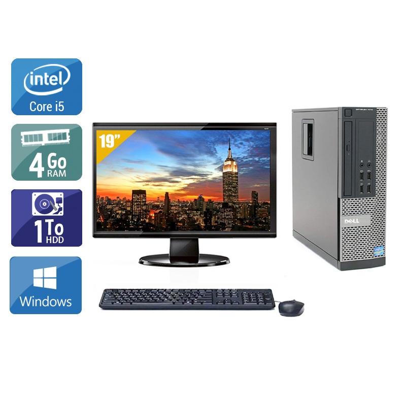 Dell Optiplex 790 SFF i5 avec Écran 19 pouces 4Go RAM 1To HDD Windows 10