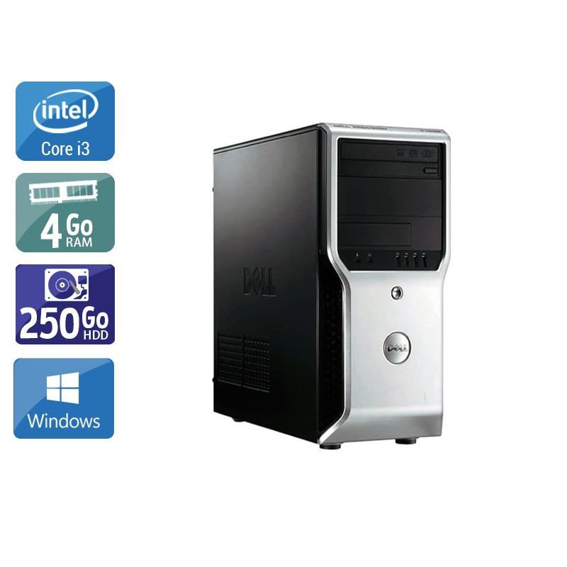 Dell Précision T1500 Tower i3 4Go RAM 250Go HDD Windows 10