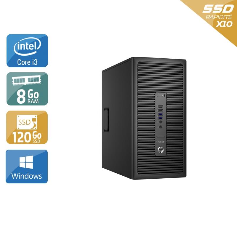 HP ProDesk 600 G2 Tower i3 Gen 6 8Go RAM 120Go SSD Windows 10