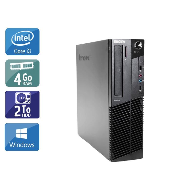 Lenovo ThinkCentre M91 USFF i3 4Go RAM 2To HDD Windows 10