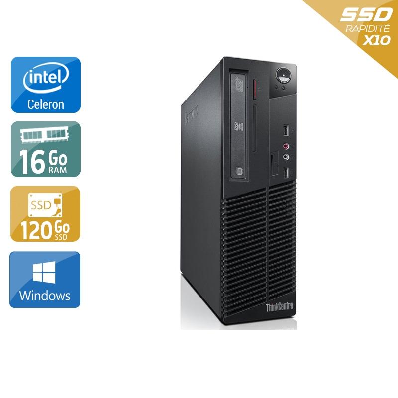 Lenovo ThinkCentre M82 SFF Celeron Dual Core 16Go RAM 120Go SSD Windows 10