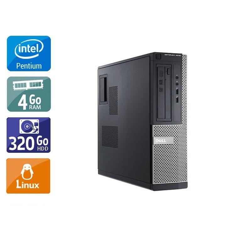 Dell Optiplex 3010 Desktop Pentium G Dual Core - 4Go RAM 320Go HDD Linux