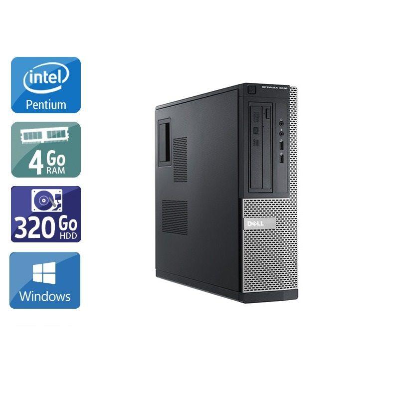 Dell Optiplex 3010 Desktop Pentium G Dual Core - 4Go RAM 320Go HDD Windows 10
