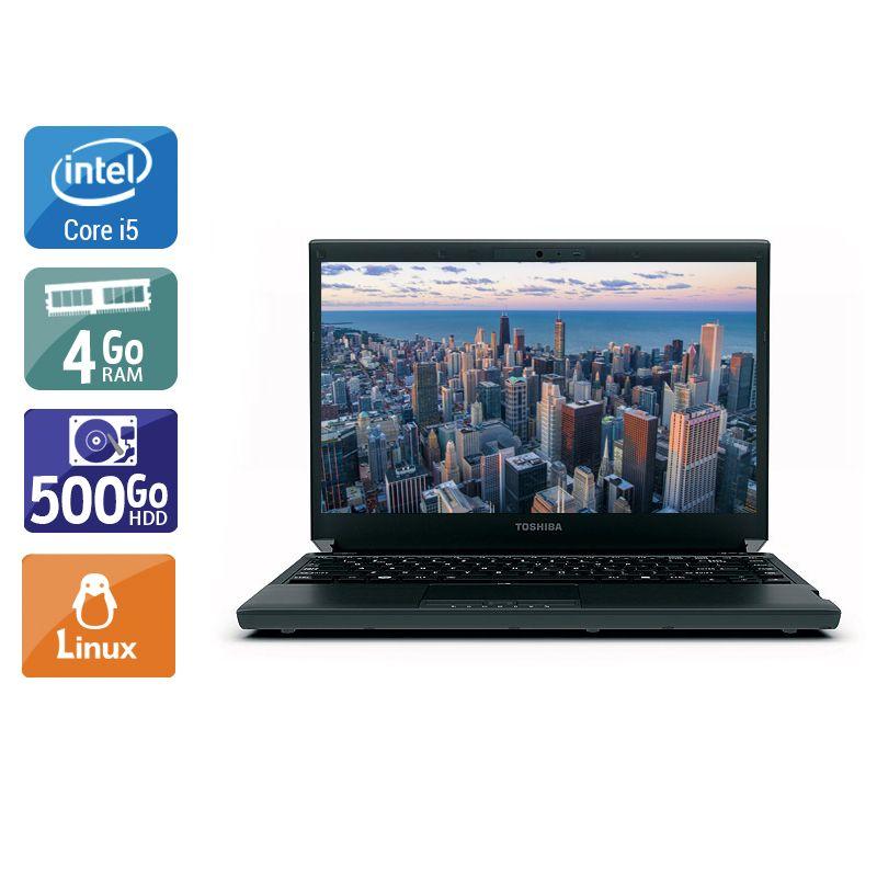 Toshiba Portégé R830 i5 - 4Go RAM 500Go HDD Linux