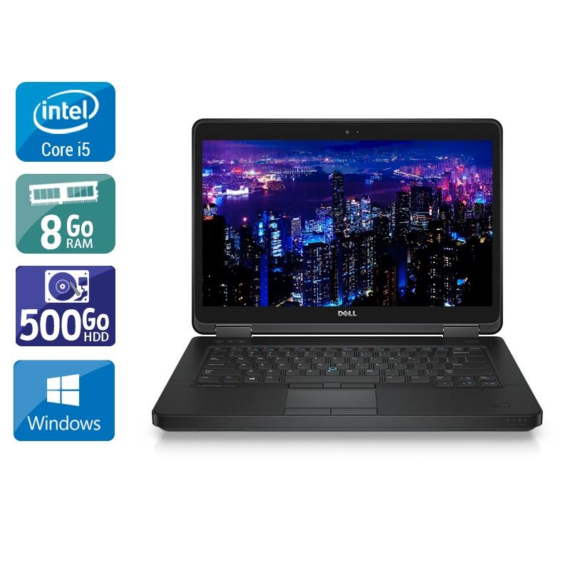 Dell Latitude E5440 i5 8Go RAM 500Go HDD Windows 10