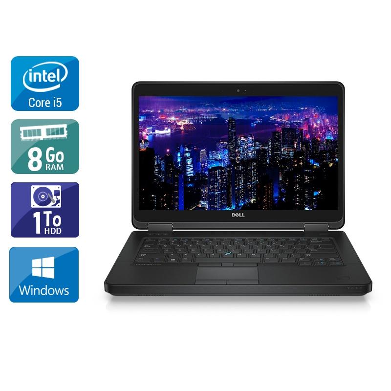 Dell Latitude E5440 i5 8Go RAM 1To HDD Windows 10