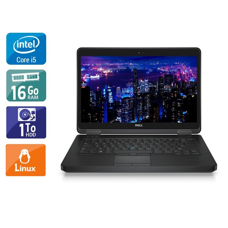 Dell Latitude E5440 i5 16Go RAM 1To HDD Linux