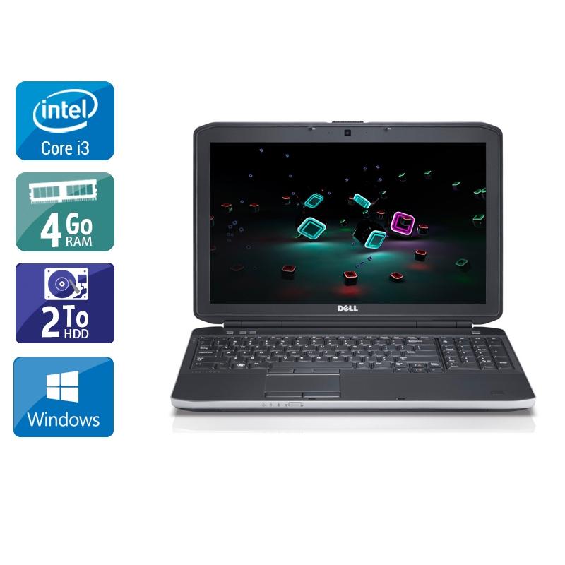 Dell Latitude E6230 i3 4Go RAM 2To HDD Windows 10