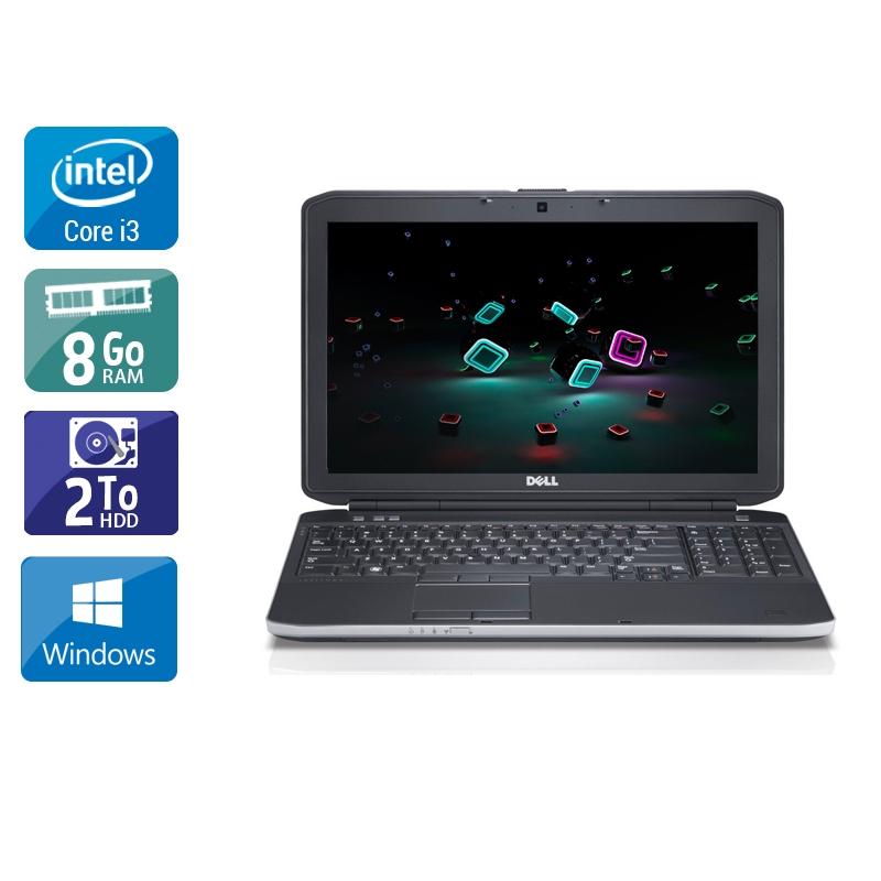 Dell Latitude E6230 i3 8Go RAM 2To HDD Windows 10