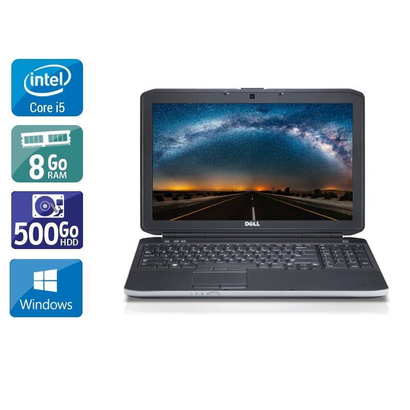 Dell Latitude E6230 i5 8Go RAM 500Go HDD Windows 10