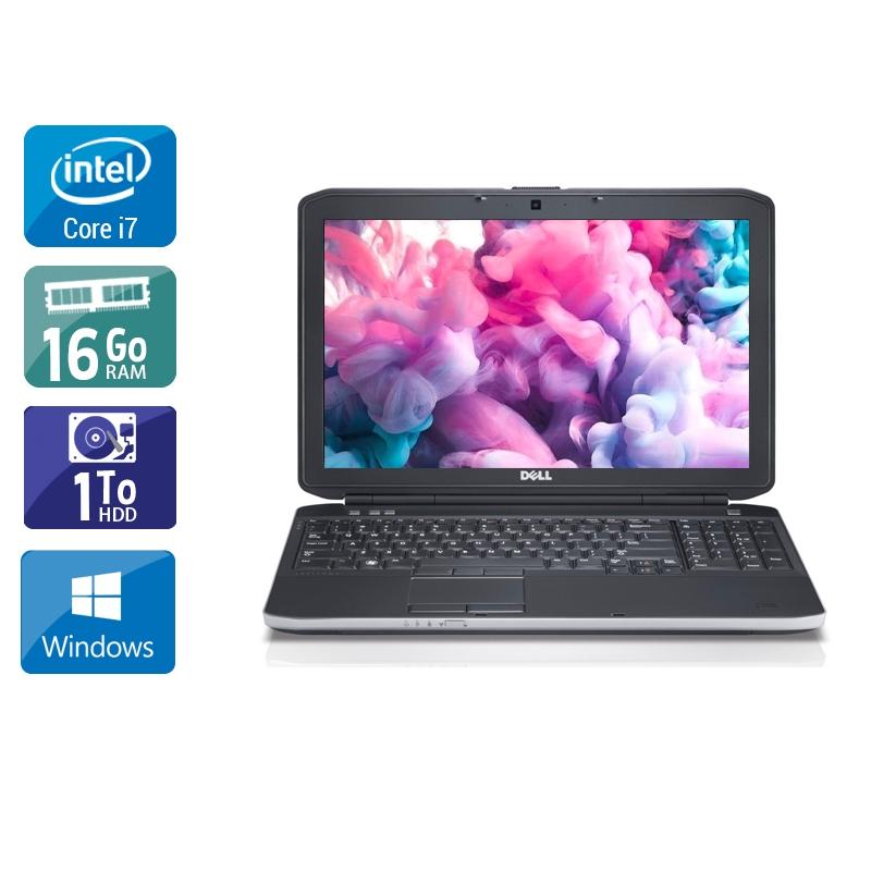 Dell Latitude E6230 i7 16Go RAM 1To HDD Windows 10