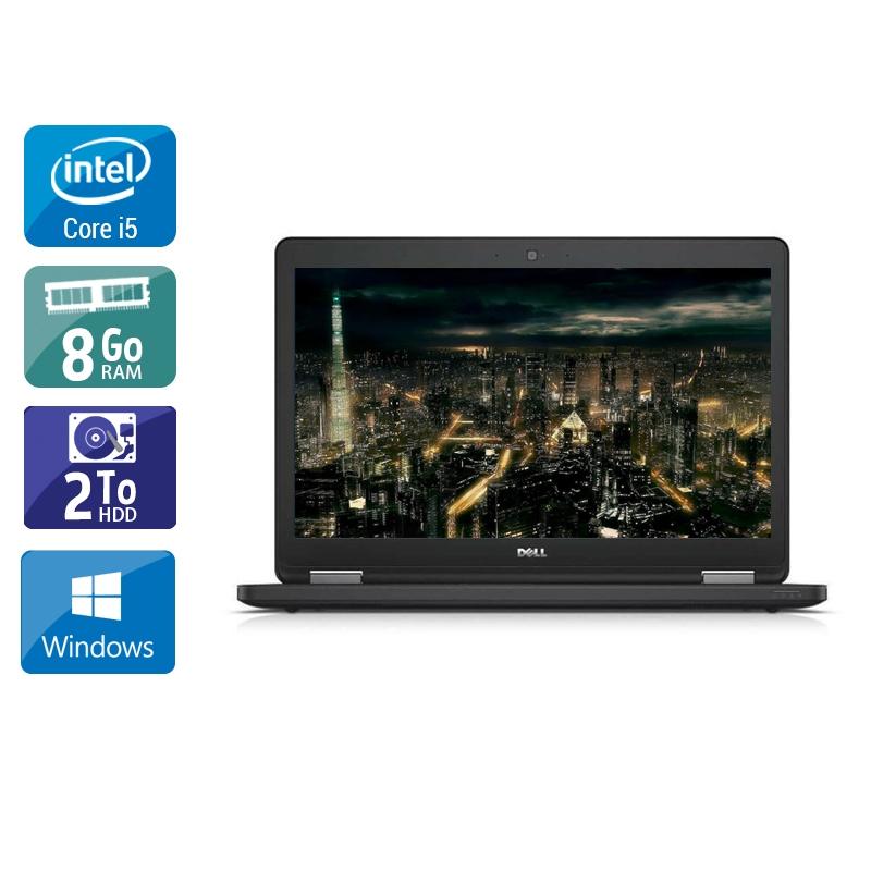 Dell Latitude E5450 i5 8Go RAM 2To HDD Windows 10
