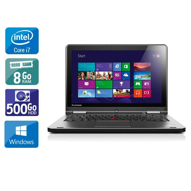 Lenovo Thinkpad S1 Yoga i7 8Go RAM 500Go HDD Windows 10
