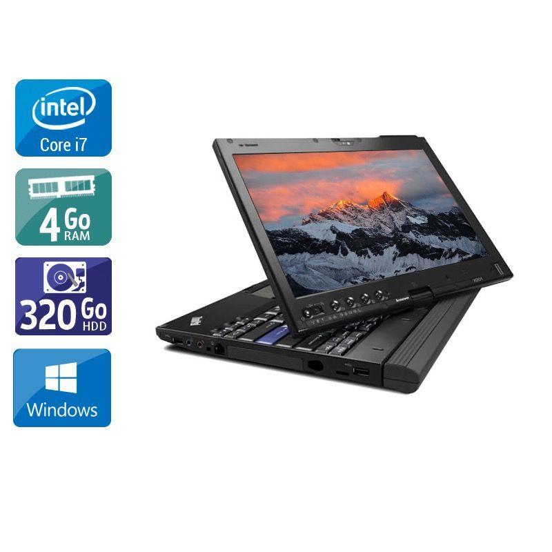 Lenovo Thinkpad X230 Tablet i7 4Go RAM 320Go HDD Windows 10